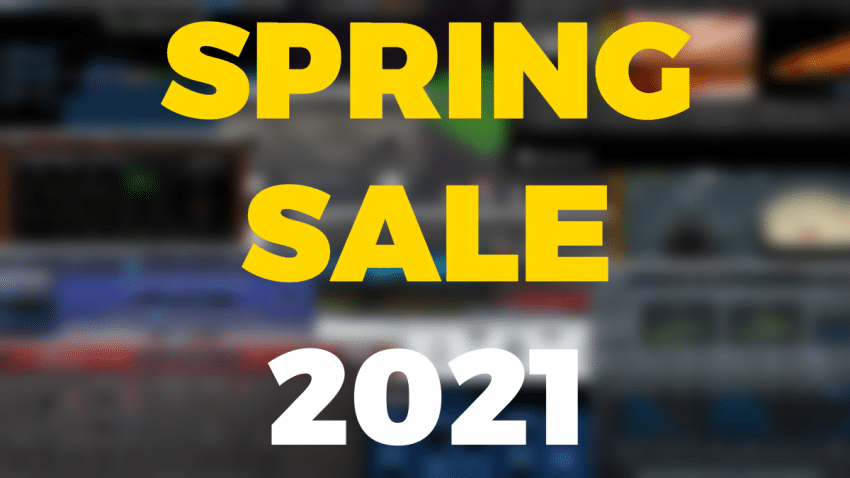 spring sale audio 2021